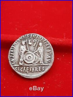Monnaie romaine denier argent