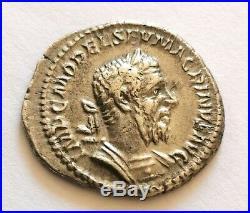 Monnaie romaine, denier de MACRIN, FIDES, RARE, SUP, roman coin, silver, RIC. 22a