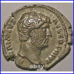 Monnaie romaine, empereur, Hadrien, Hadrianus, Denier, R/ FIDES PVBLICA Empire R