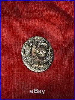 Monnaie romaine en argent denier césar auguste