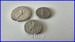 Monnaie romaine tres jolie lots de 3 denier