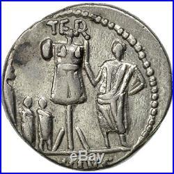 Monnaies antiques, Aemilia, Denier, Rome, TTB, Argent, Crawford415/1 #508320