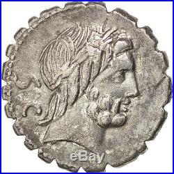 Monnaies antiques, Antonia, Denier serratus, Rome, Crawford 364/1d #45786