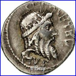 Monnaies antiques, Caecilia, Denier, Atelier itinérant, TTB+, Argent #508461