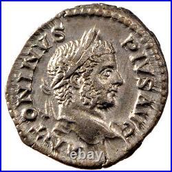 Monnaies antiques, Caracalla, Denier, Cohen 484 #61063