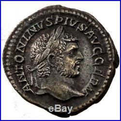 Monnaies antiques, Caracalla, Denier, Cohen 606 #61215