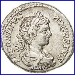 Monnaies antiques, Caracalla, Denier, Rome, RIC 39a #45836