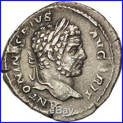 Monnaies antiques, Caracalla, Denier, Rome, Semble inédit, RIC 193var #37137