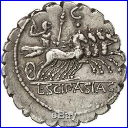 Monnaies antiques, Cornelia, Denier serratus, Rome, RBW 1154 #36869