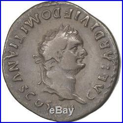 Monnaies antiques, Domitien, Denier, Rome, RIC 266 #37142