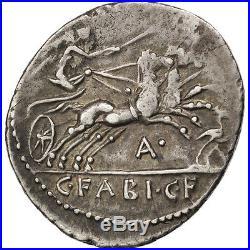 Monnaies antiques, Fabia, Denier #64591