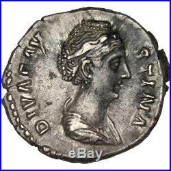 Monnaies antiques, Faustine, Denier #31220