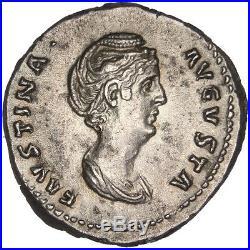 Monnaies antiques, Faustine, Denier #31529