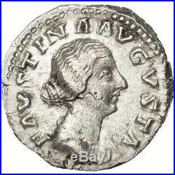 Monnaies antiques, Faustine Jeune, Denier, Cohen 221 #64991