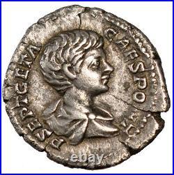 Monnaies antiques, Geta, Denier, Cohen 157 #60618