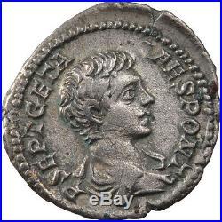 Monnaies antiques, Géta, Denier, Cohen 36 #60517