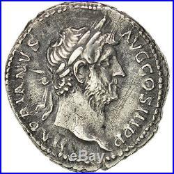 Monnaies antiques, Hadrien (117-138), Denier, RIC 299 var. #400459