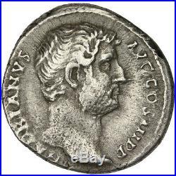 Monnaies antiques, Hadrien, Denier #31218