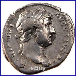Monnaies antiques, Hadrien, Denier, Cohen 394 #60801