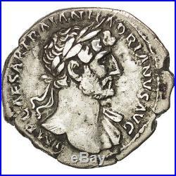 Monnaies antiques, Hadrien, Denier, Rome, RIC 121 #37145