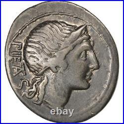 Monnaies antiques, Herennia, Denier, Rome, Crawford 308/1a #35266