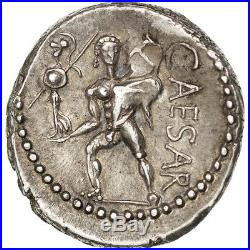 Monnaies antiques, Jules César, Denier, Afrique, Cohen 12 #44440