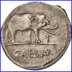 Monnaies antiques, Jules César, Denier, atelier itinérant avec César #47632