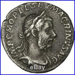 Monnaies antiques, Macrin, Denier #31267