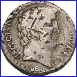 Monnaies antiques, Marc Antoine, Denier, 32 BC, Athènes, Crawford 542/1 #47744