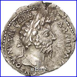 Monnaies antiques, Marc Aurèle, Denier, Rome, RIC 185 #38398