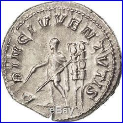 Monnaies antiques, Maxime César, Denier, Rome, NGC Choice AU 4/3, RIC 3 #32911