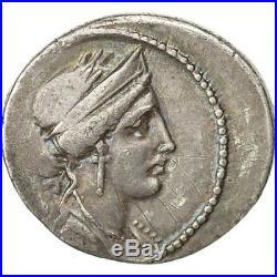 Monnaies antiques, Monnaie, Licinia, Denier, 55 BC, Rome, TTB+, Argent #491433