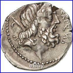 Monnaies antiques, Neria, Denier, Rome, Crawford 441/1 #37945