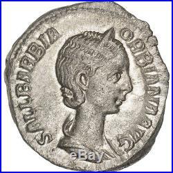Monnaies antiques, Orbiane, Denier, Rome, RIC 319 #33792