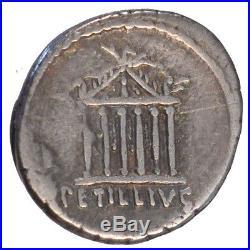 Monnaies antiques, Petillia, Denier #64543