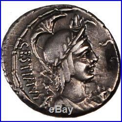 Monnaies antiques, Plaetoria, Denier #64581