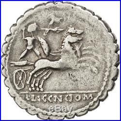Monnaies antiques, Pomponia, Denier #64620