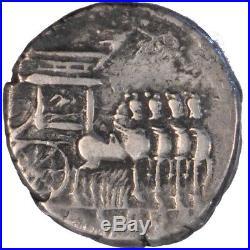 Monnaies antiques, Rubria, Denier #64546