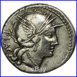 Monnaies antiques, Rutilia, Denier, Rome, TTB, Argent, Crawford387/1 #506607