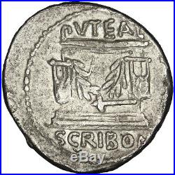 Monnaies antiques, Scribonia, Denier #31519