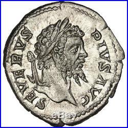 Monnaies antiques, Septime Sévère, Denier #31530