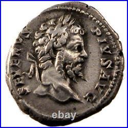 Monnaies antiques, Septime Sévère, Denier, Cohen 205 #60809