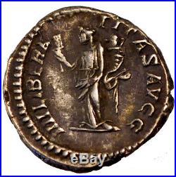 Monnaies antiques, Septime Sévère, Denier, Cohen 293 #61439