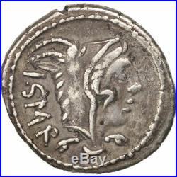 Monnaies antiques, Thoria, Denier, 105 BC, Roma, TTB+, Argent, Sear5# #417240