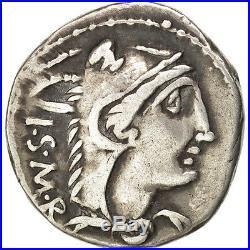 Monnaies antiques, Thoria, Lucius Thorius Balbus, Denier, Rome #46007