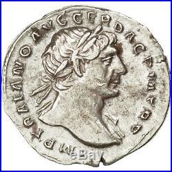 Monnaies antiques, Trajan, Denier, Rome, RIC 115 #34002