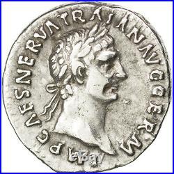 Monnaies antiques, Trajan, Denier, Rome, RIC 11 #33999