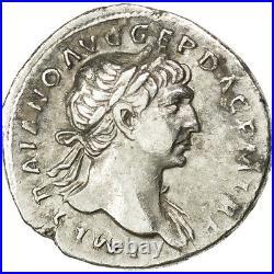 Monnaies antiques, Trajan, Denier, Rome, RIC 128 #34005