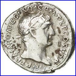 Monnaies antiques, Trajan, Denier, Rome, RIC 212 #34003
