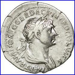 Monnaies antiques, Trajan, Denier, Rome, RIC 275 #34593